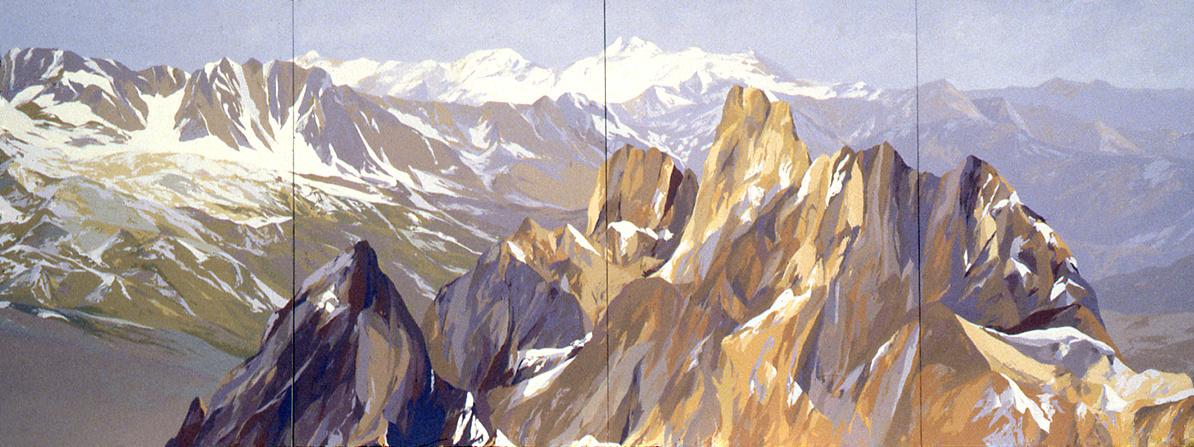 Mountain Range for Iran