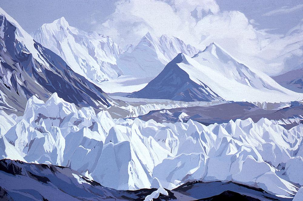 Rongbuk Glacier - Mount Everest