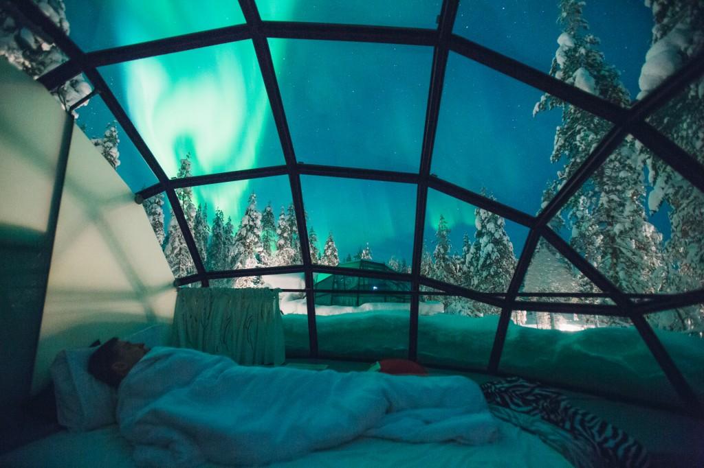 via  Kakslauttanen Arctic Resort