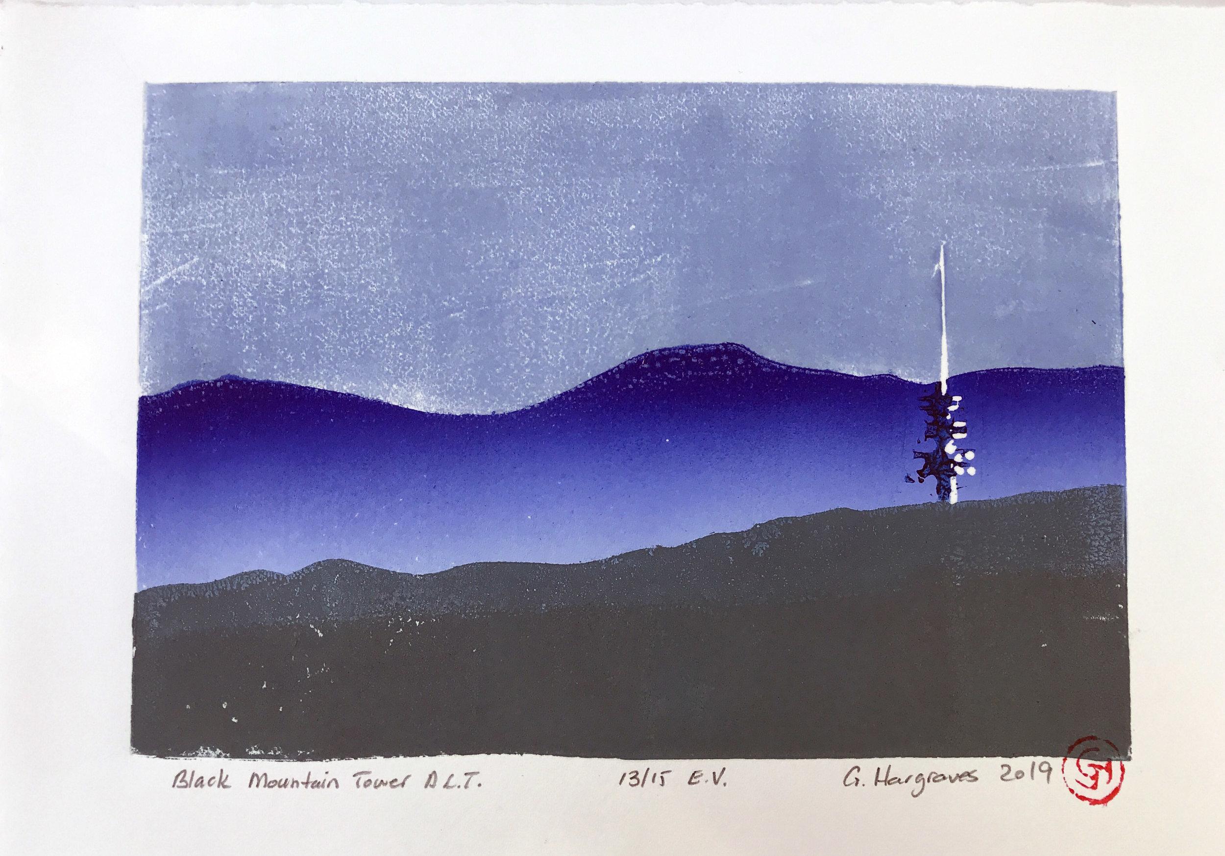 Black mountain tower ACT