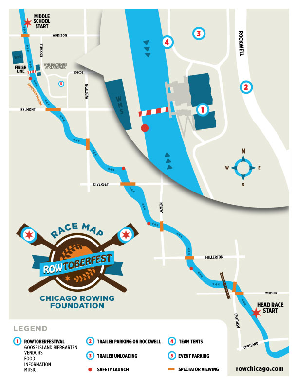 ROWtoberfest Course map