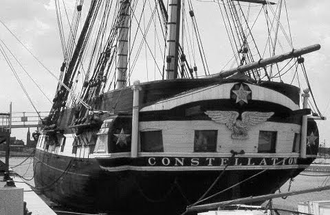 USS Constellation  - I run by it most mornings.