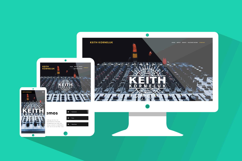Keith Korneluk, Brand & Web Design