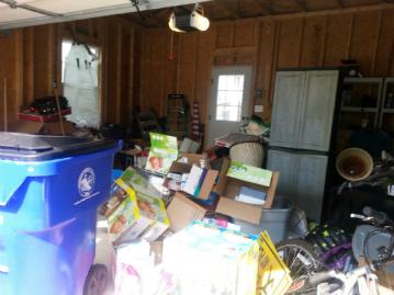 Garage Before…