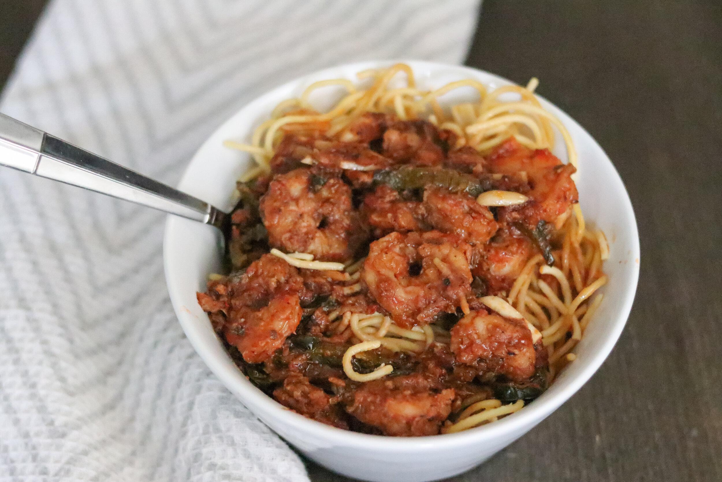 Calabrian Shrimp Scampi_Gluten Free Recipes