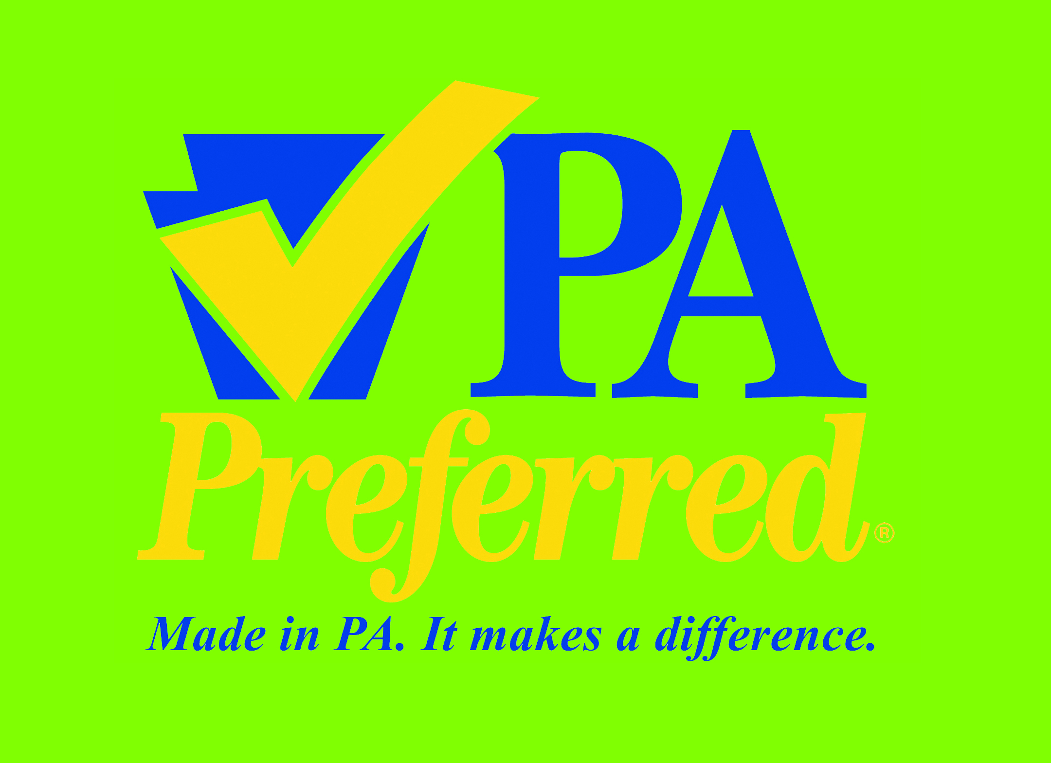 We are proud to be recognized as a PA Preferred business and we try to source our ingredients from PA farms and producers whenever possible.