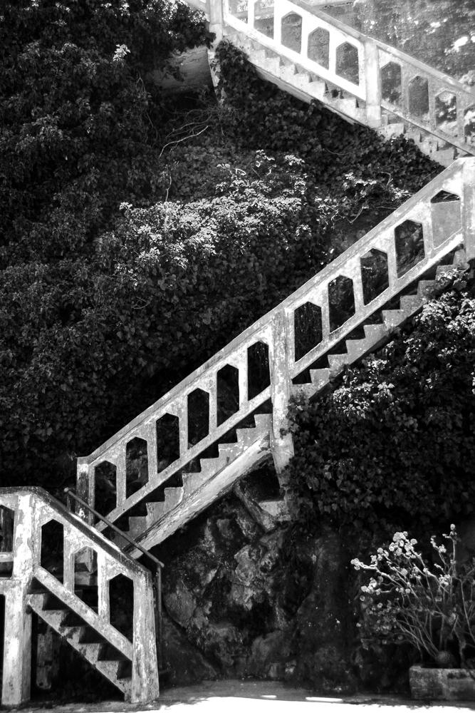 Stairwell to Alcatraz