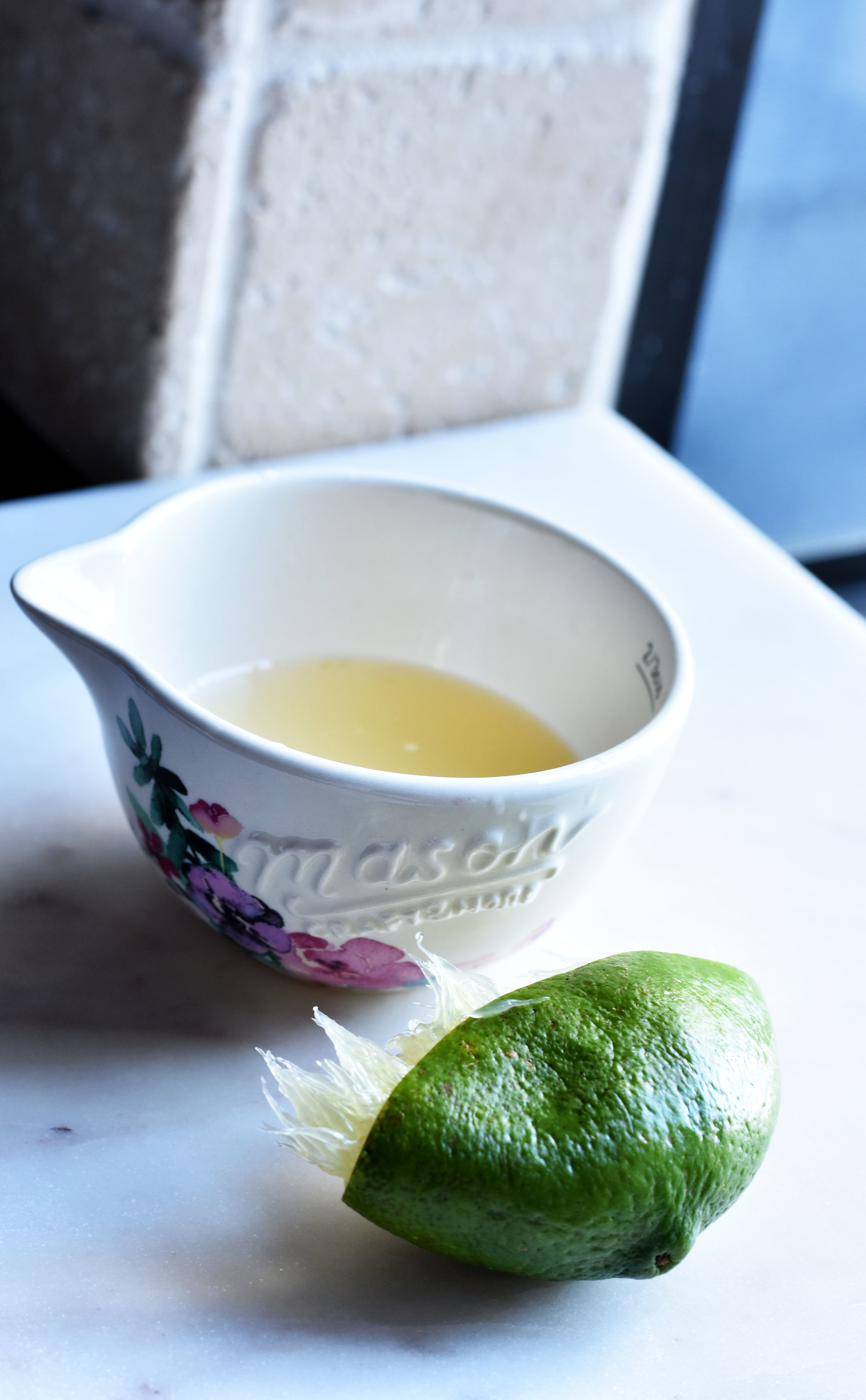 Lime for Blackberry Chipotle Jam