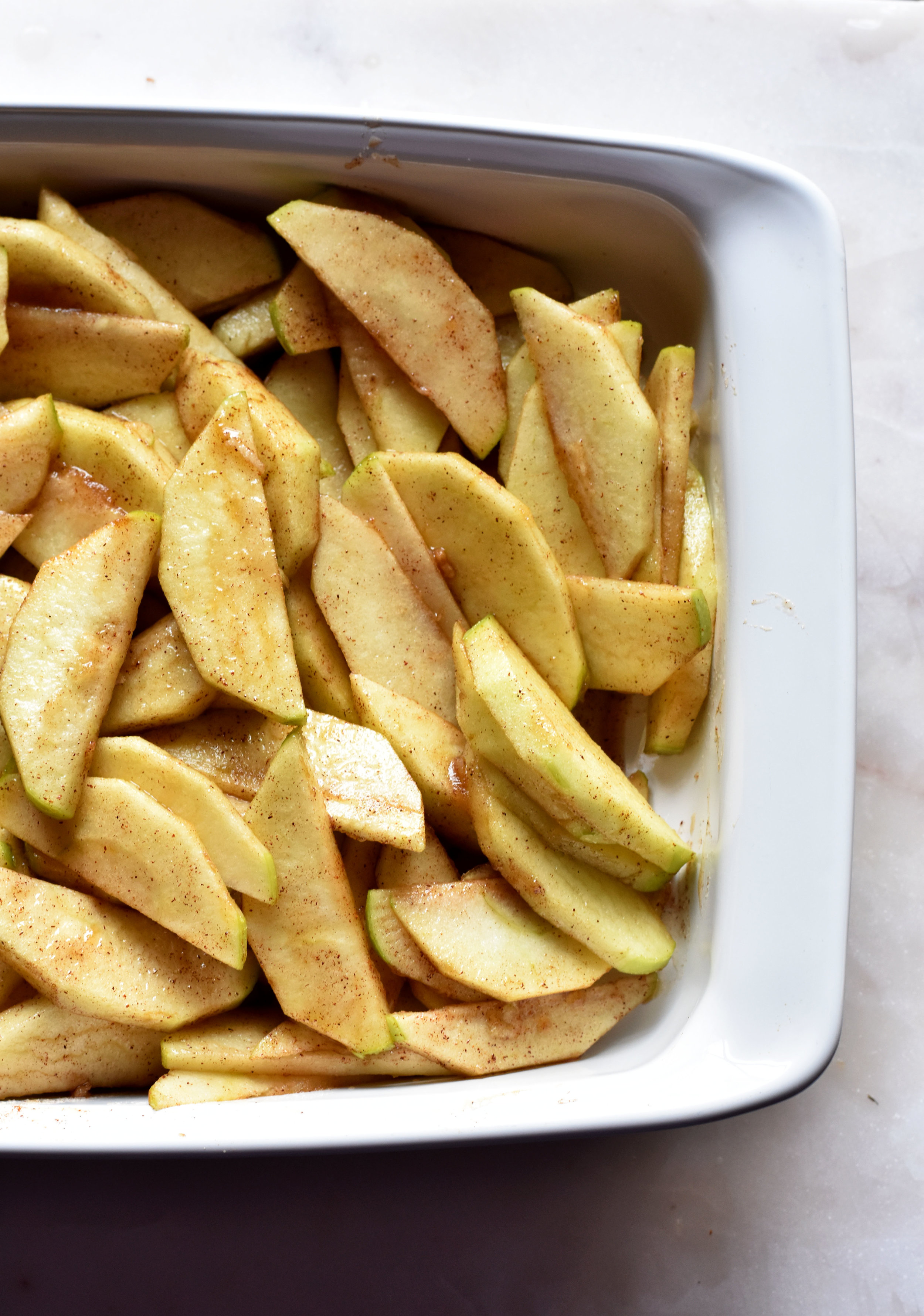 Vanilla Cookie Apple Crisp