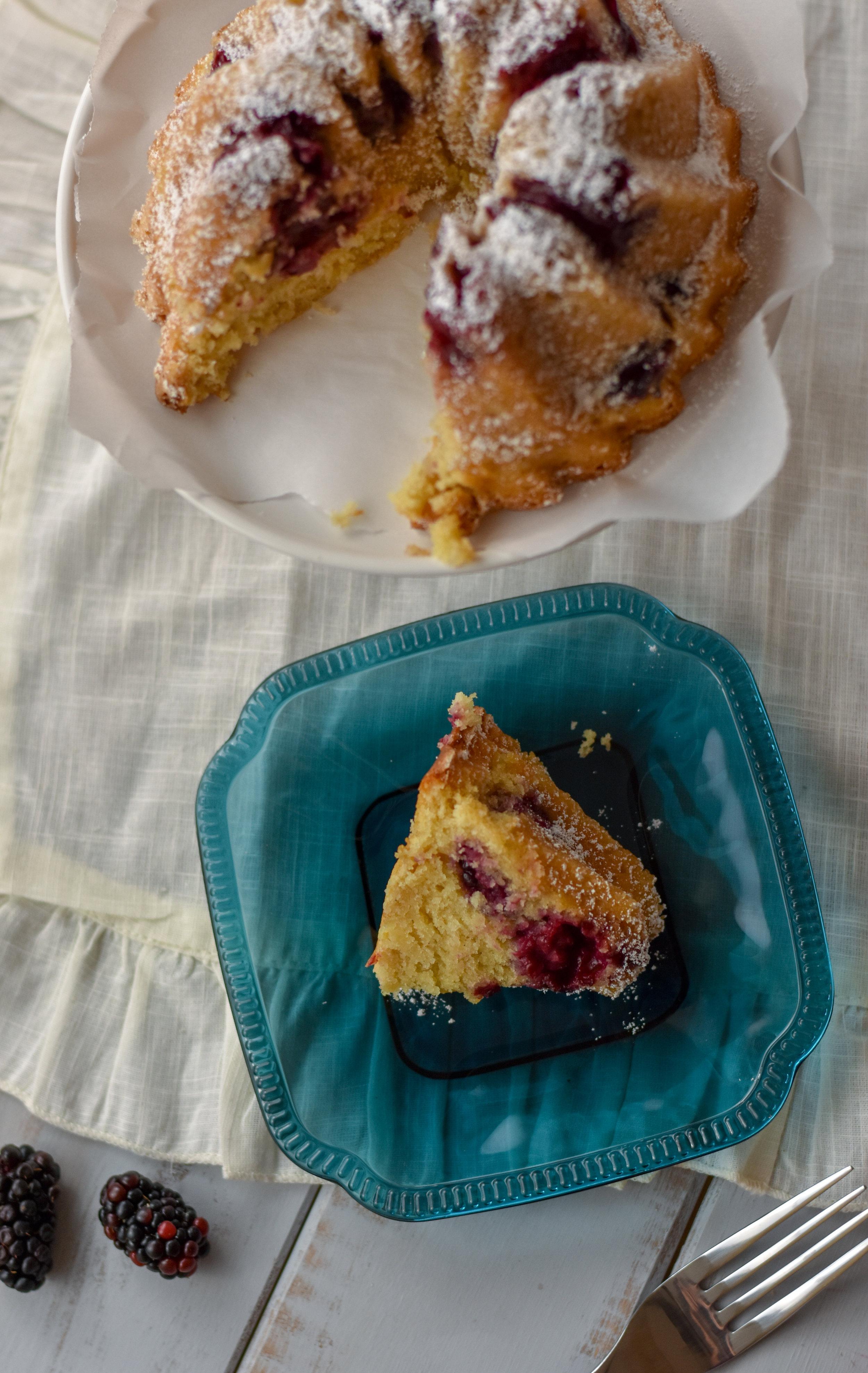 blackberry bundt cake recipe