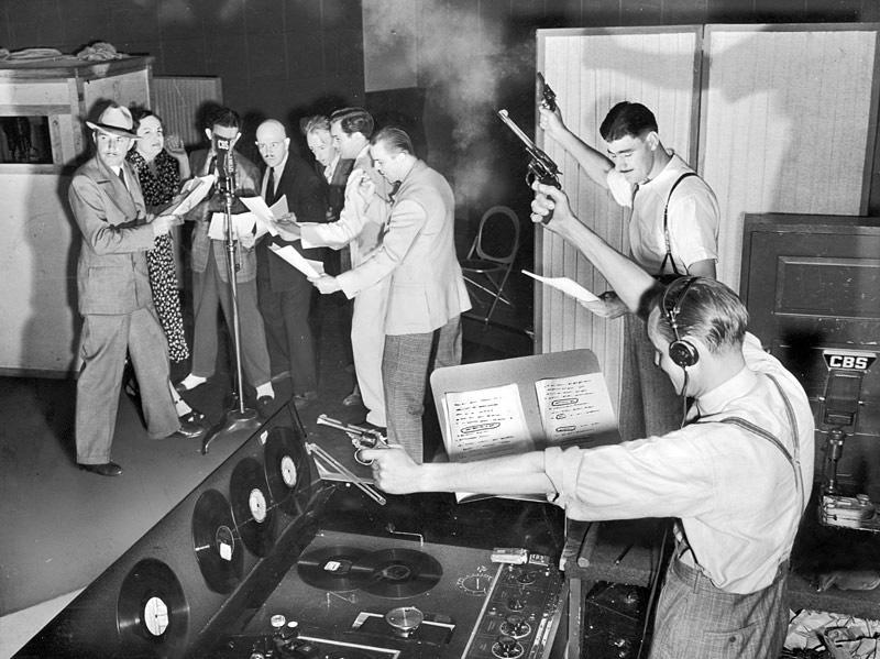 Old Radio Show w:Foley Image.jpg