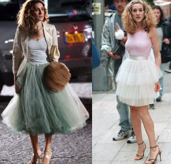Carrie Bradshaw, iconic character in Sex & the City.
