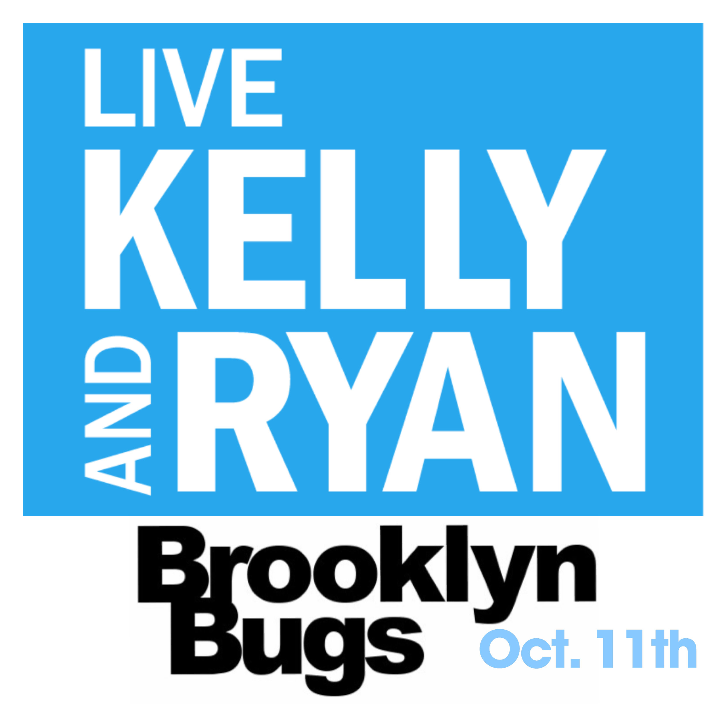 Oct 11th at 9am - We are thrilled to be invited to appear on Live with Kelly and Ryan to promote #bugbites, and our work with the Smithsonian Channel! Appearing on shows like this will help validate #edibleinsects and the work that we are doing to raise appreciation and awareness for edible insects.