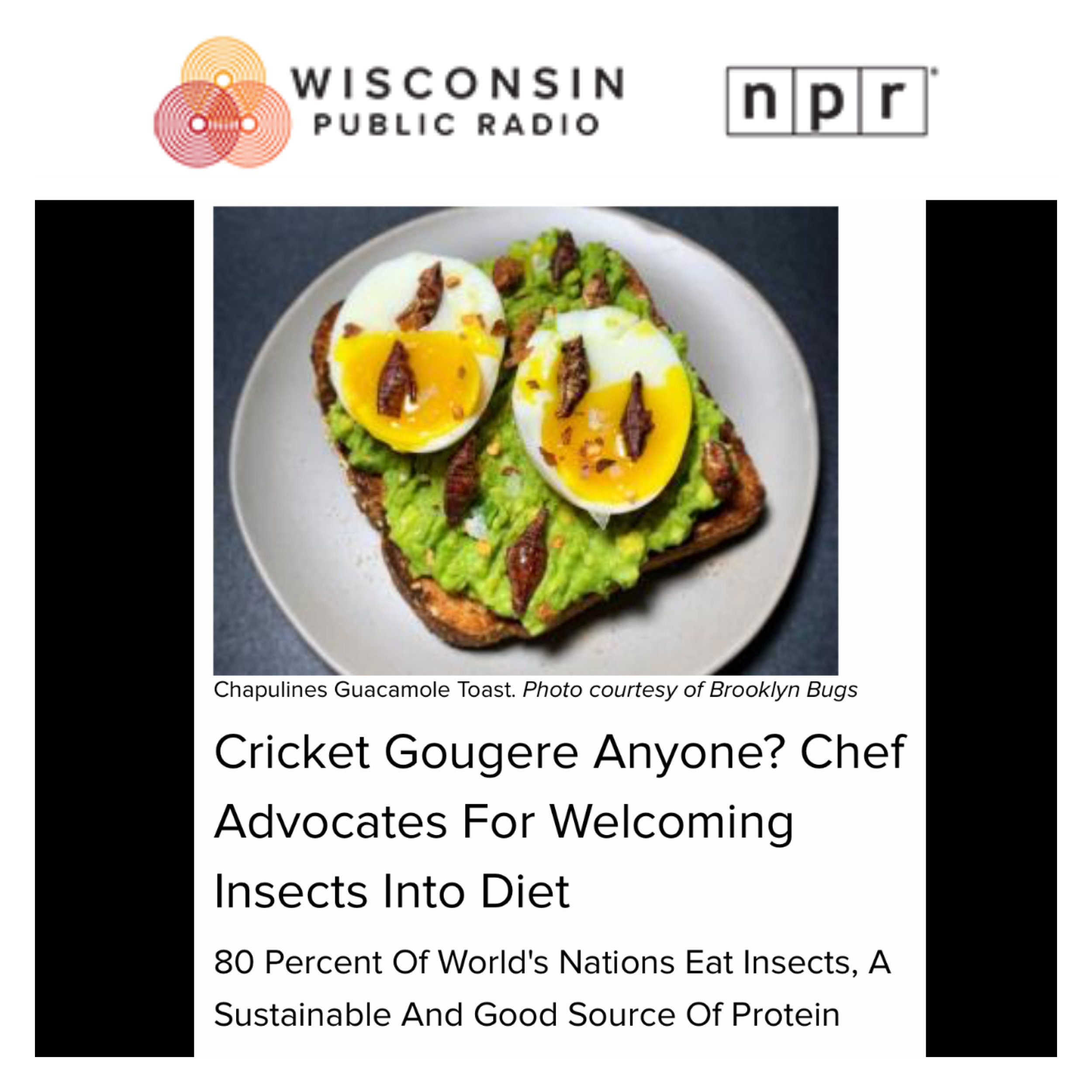 https://www.wpr.org/cricket-gougere-anyone-chef-advocates-welcoming-insects-diet