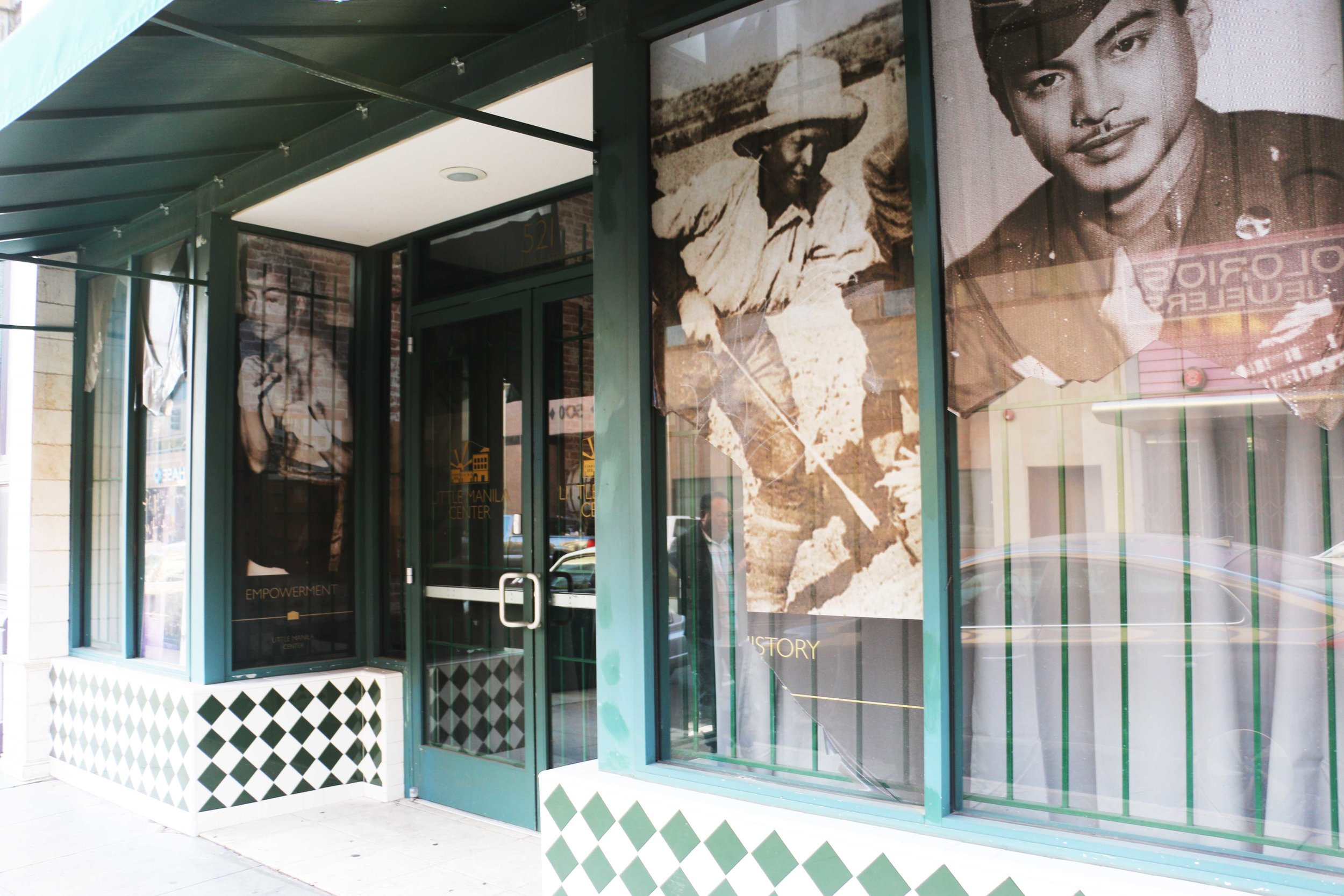 The Little Manila Center in Stockton, California. Photo by Patrick Epino.