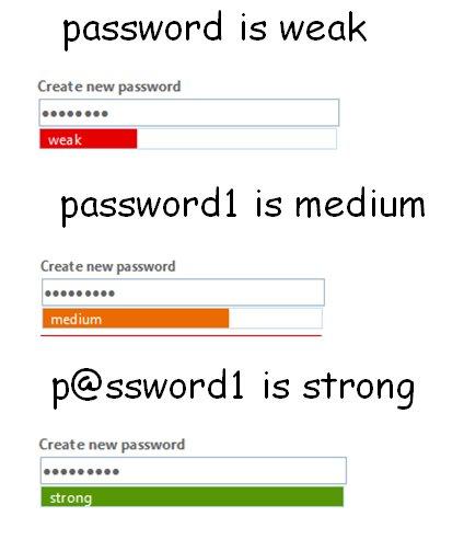password guidelines - Sumos hacker alerts