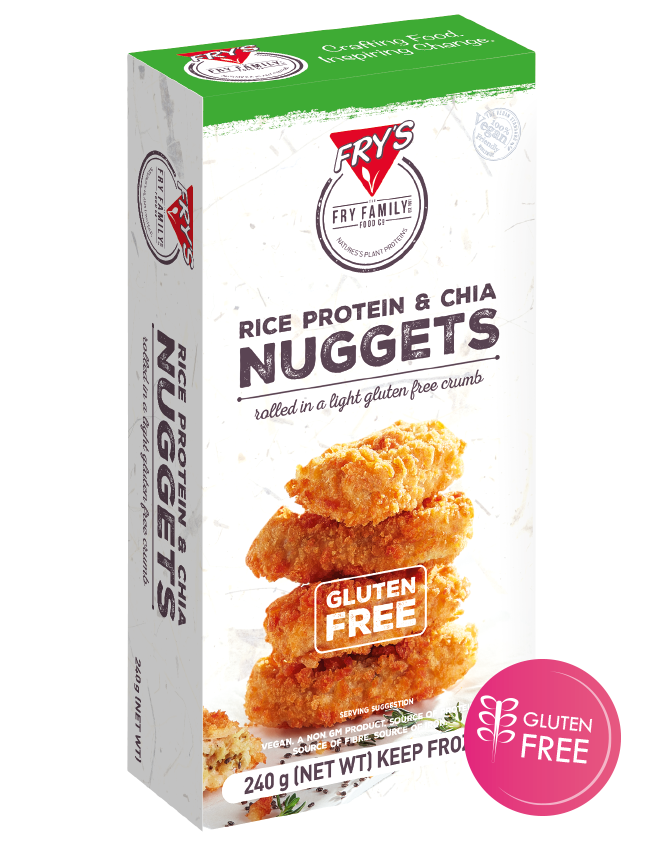 Fry's Nuggets (Gluten Free) - Our nuggets are the perfect snack food for your event, canteen or menu. Bite sized goodness coming your way!$1.00 per serve (4 nuggets).Sold per box of 18 serves.