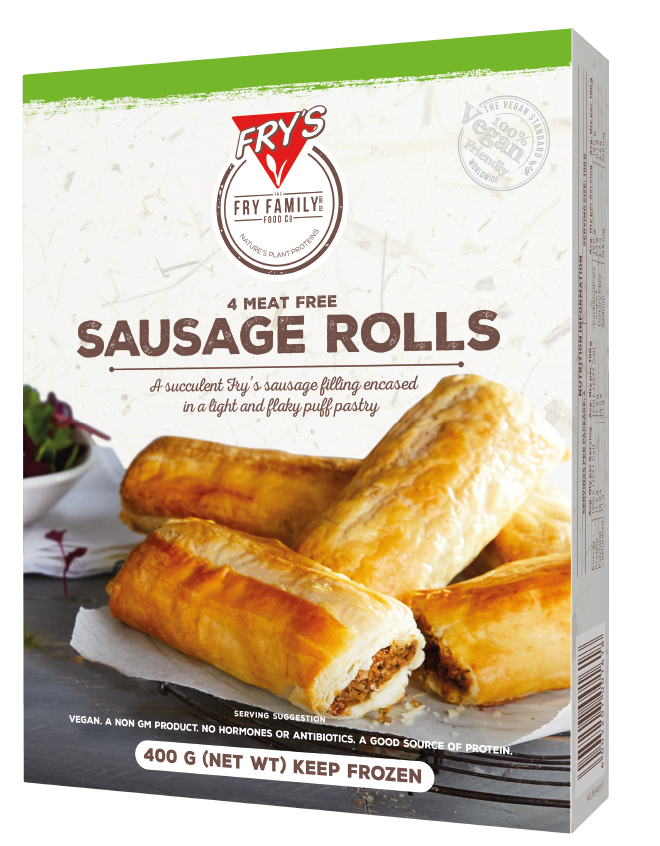 Fry's Sausage Rolls - Our sausage rolls are a great choice for school canteens, sports days or as an extra option at your event. Easy to cook and super delicious!$0.76 per serve.Sold per box of 24 serves.