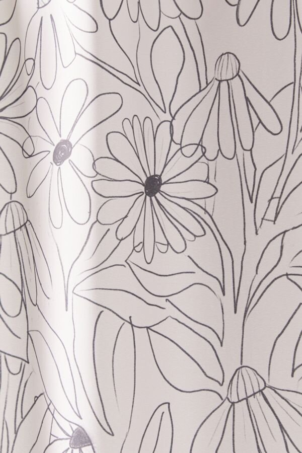 Deny Blooming Shower Curtain by Alja Horvat for Deny Designs