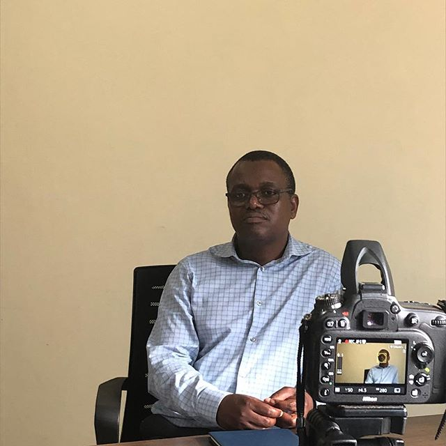 Gibson met with us.  We were able to interview him about #malawi, his work with #worldrelief.  This man has passion!  We could have listened to him forever.  #blessings #servantleader