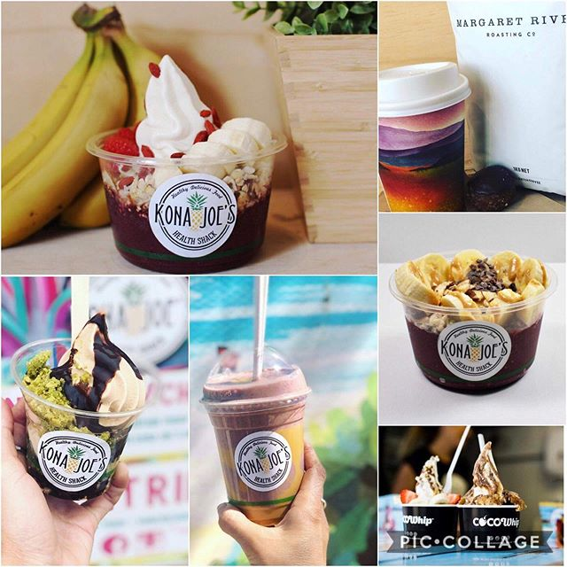 Kona Joe's health shack will be at the Southwest market day this SATURDAY Yallingup hall 10-1pm vintage, pre loved high - med range fashion. Followed by 3-8pm at Eaton Fair shopping centre for the international food Day. #konajoeshealthshack #acai #coffee #smoothiebowls #shopping #fashion #cocowhip
