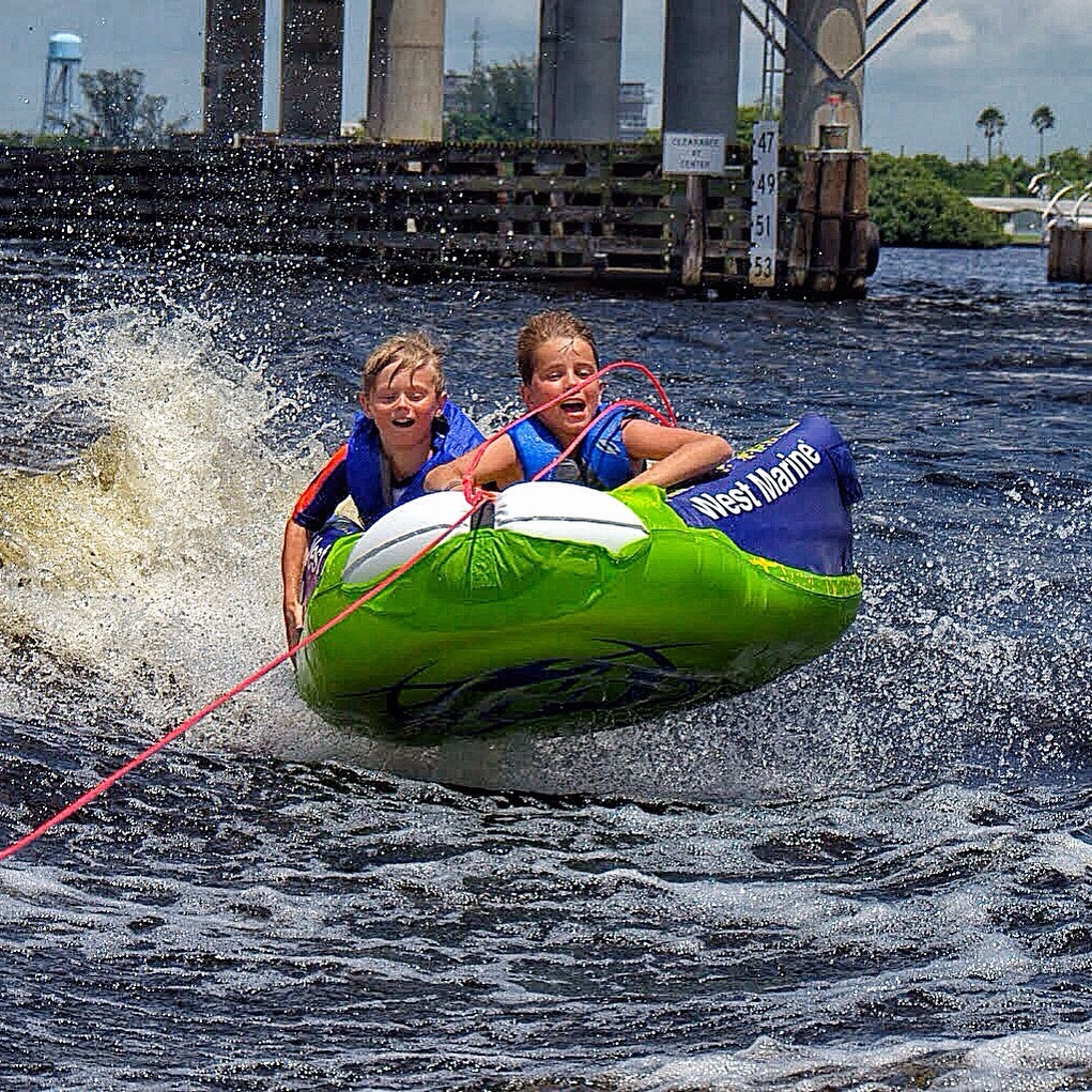 Tubes and ropes - available with jet ski rental