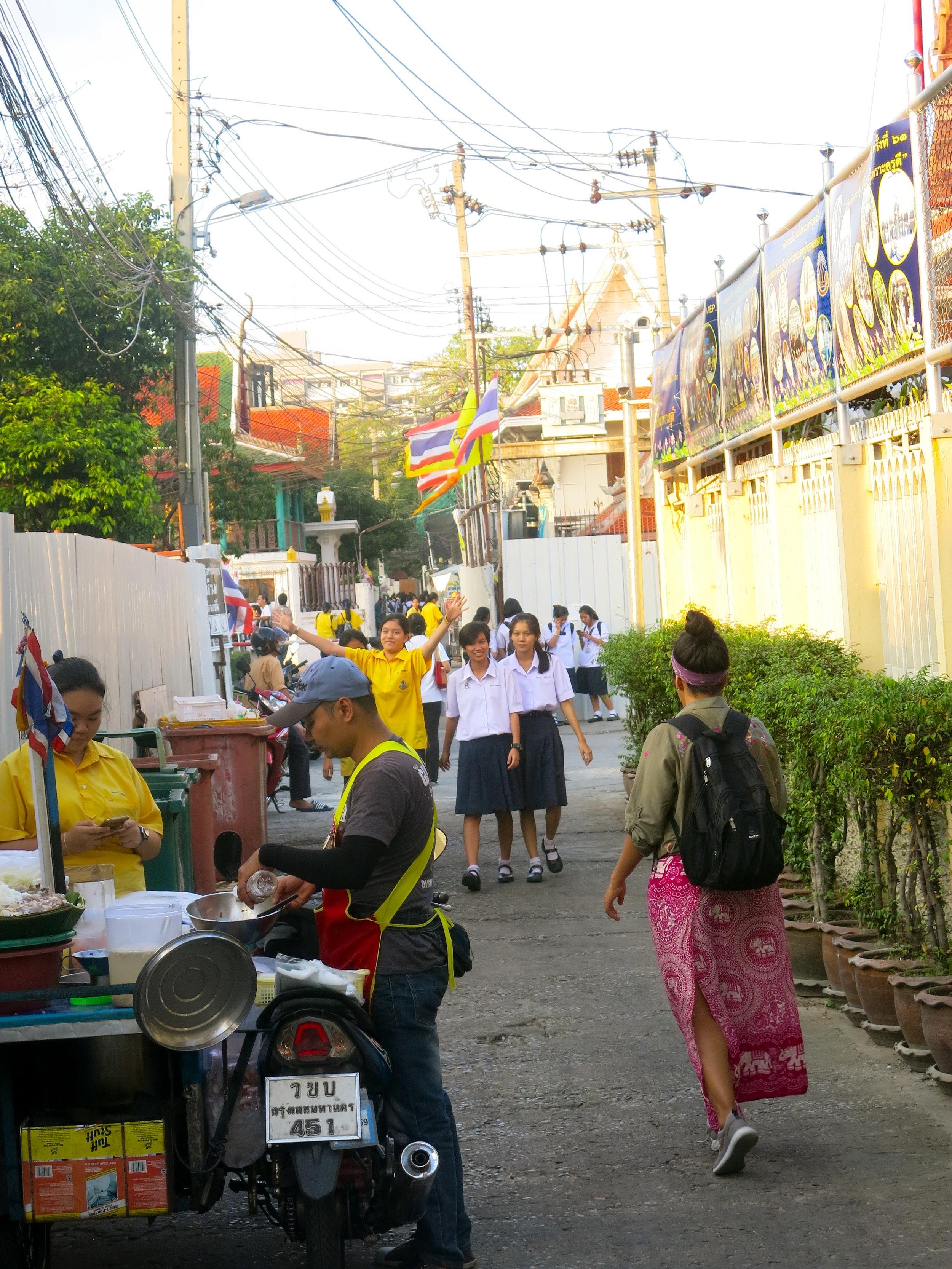 Street scene of Thonburi