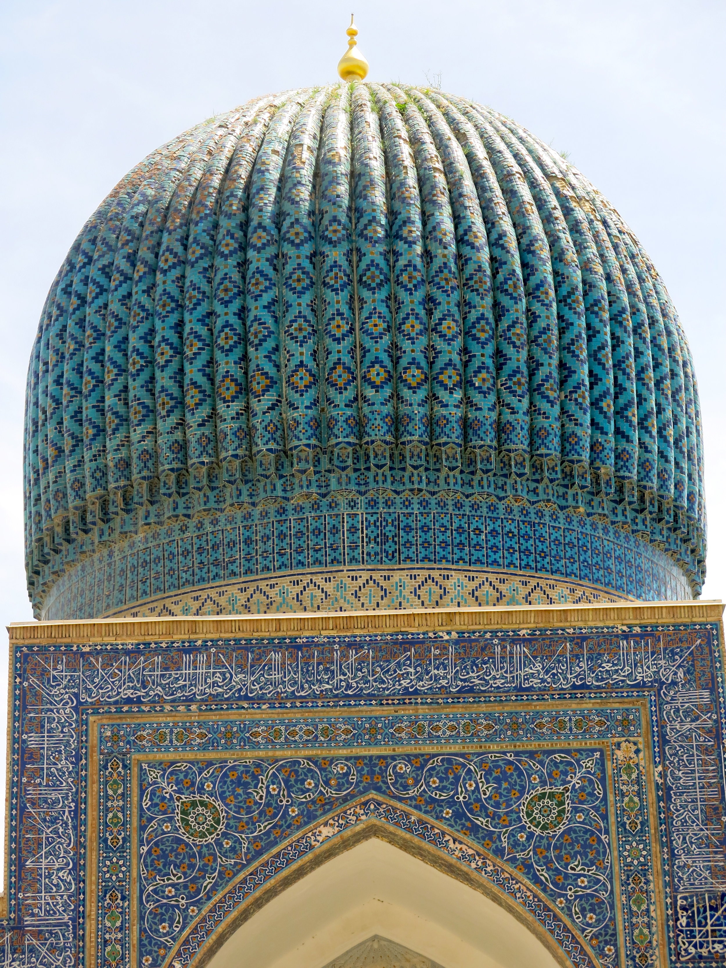Gur-Emir hosts the remains of mighty ruler Amir Timur (Tamerlane in English)
