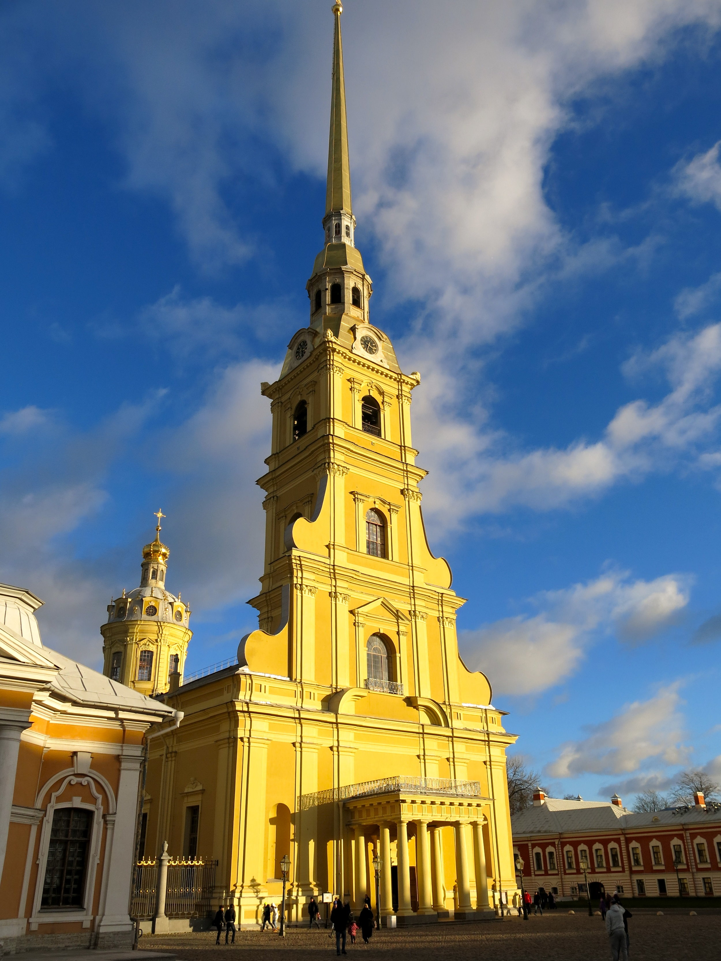 The Peter & Paul Cathedral host the tombstones of Tsars
