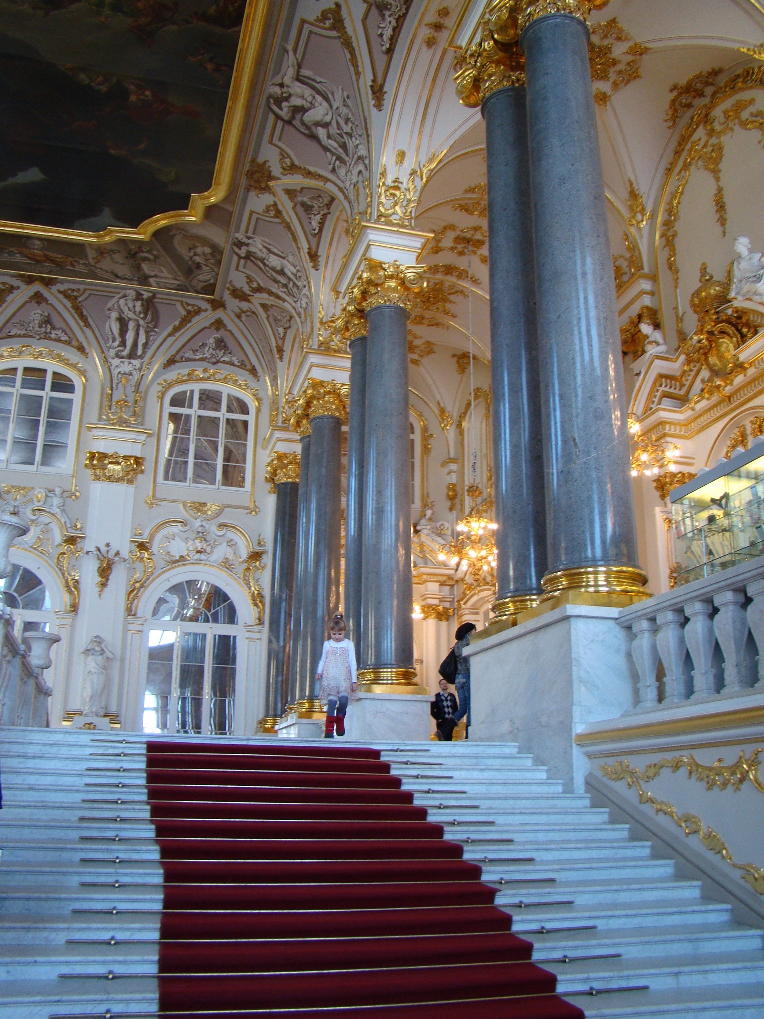 The Jordan staircase in the Winter Palace