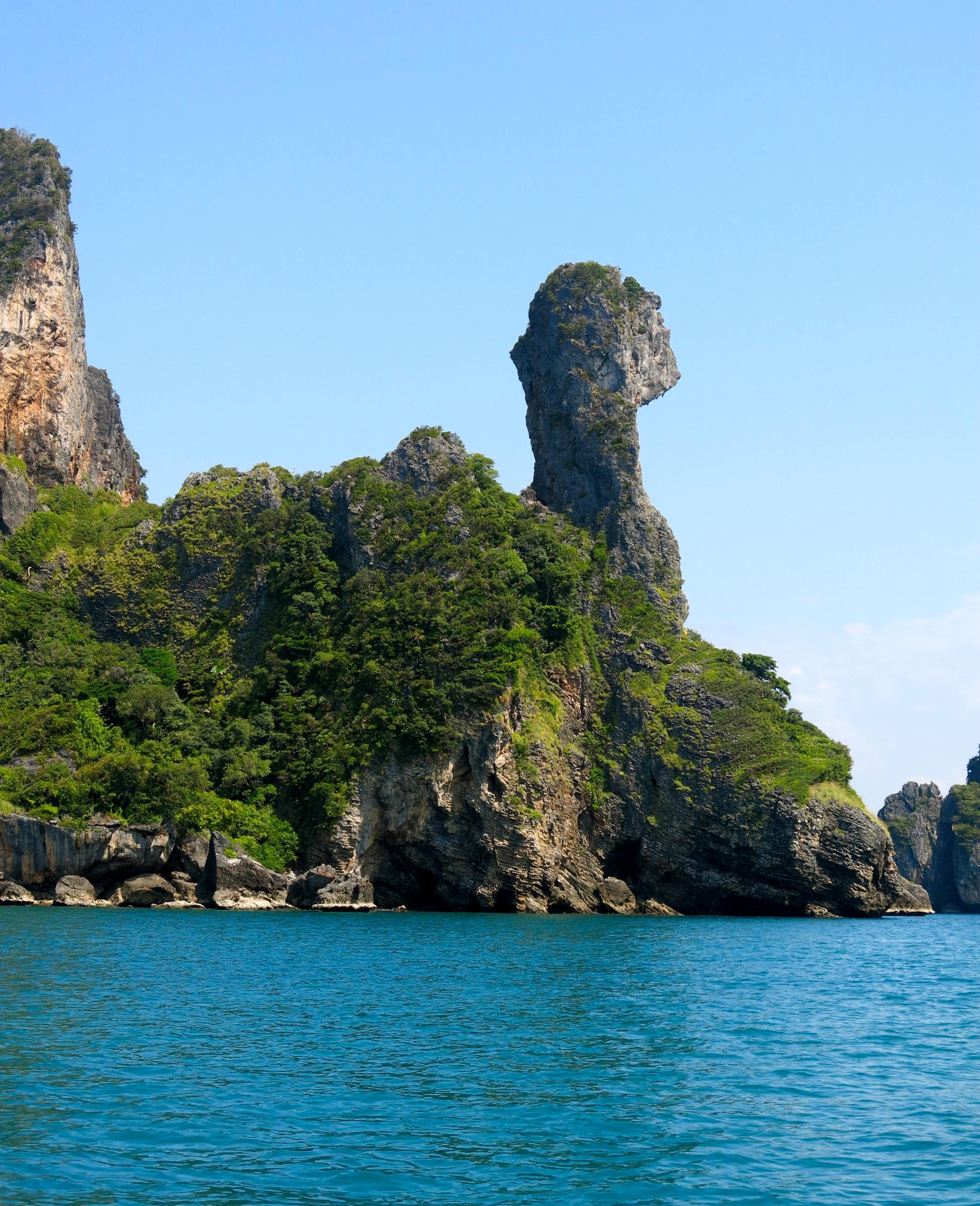 Chicken island is right next to Koh Poda island