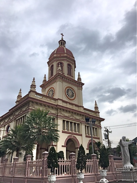 The catholic church of Santa Cruz built by Portuguese