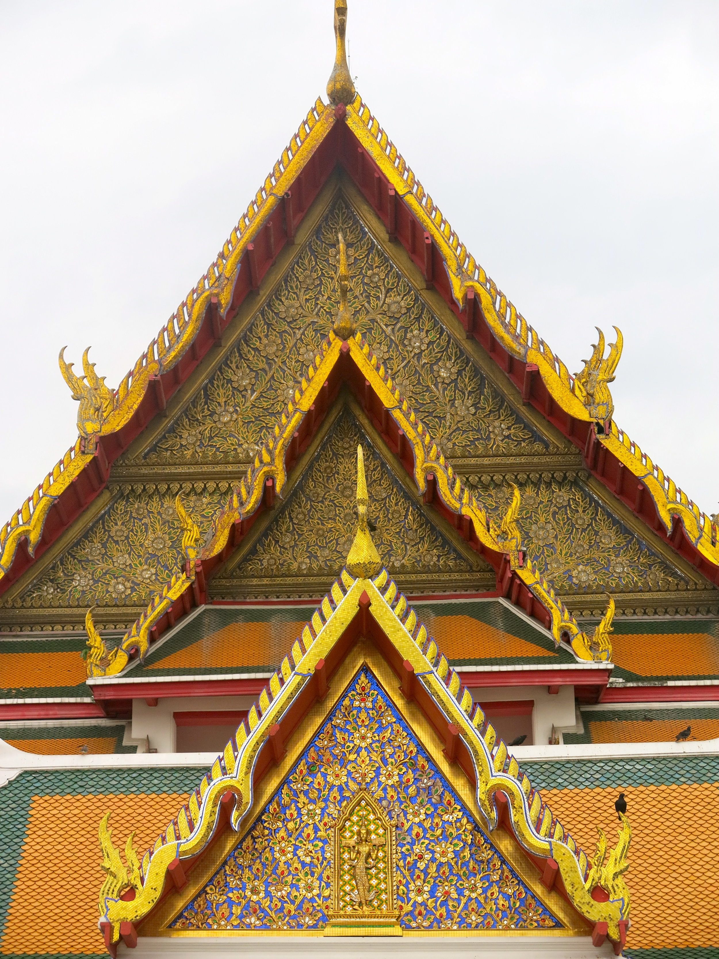 The temple was built for the Chinese community of Bangkok