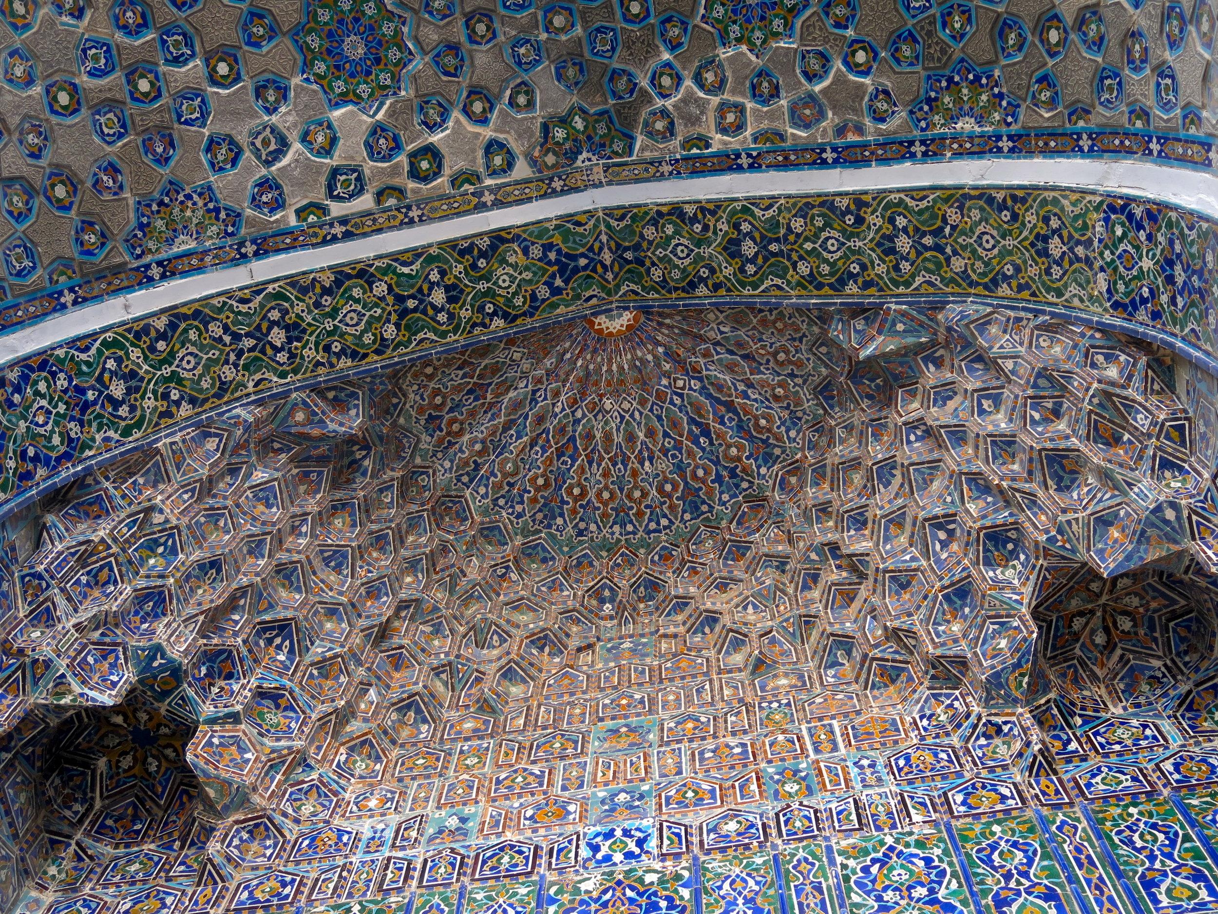 Another stunning set of muqarnas