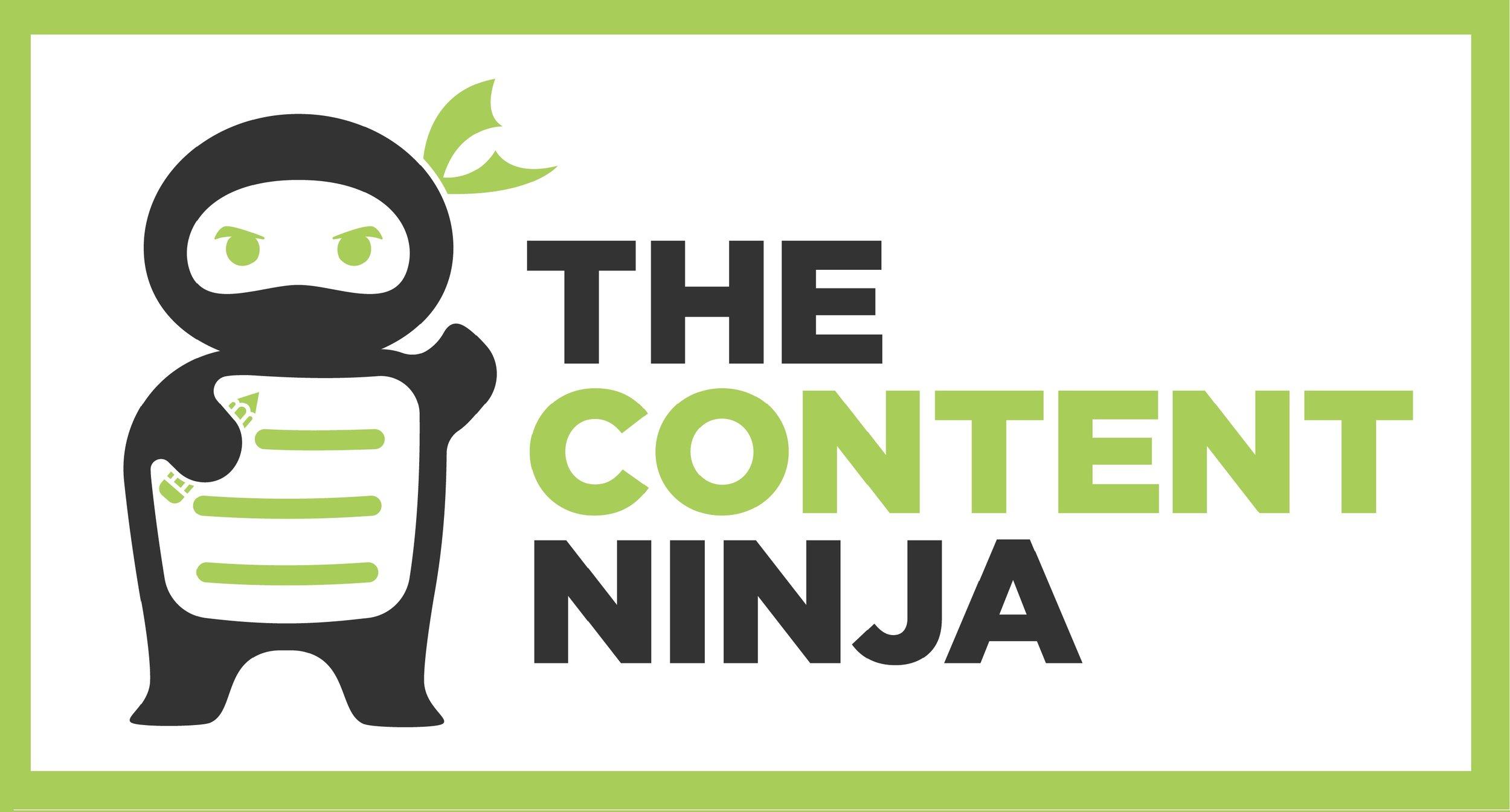 The Content Ninja logo - SEO Content Shop