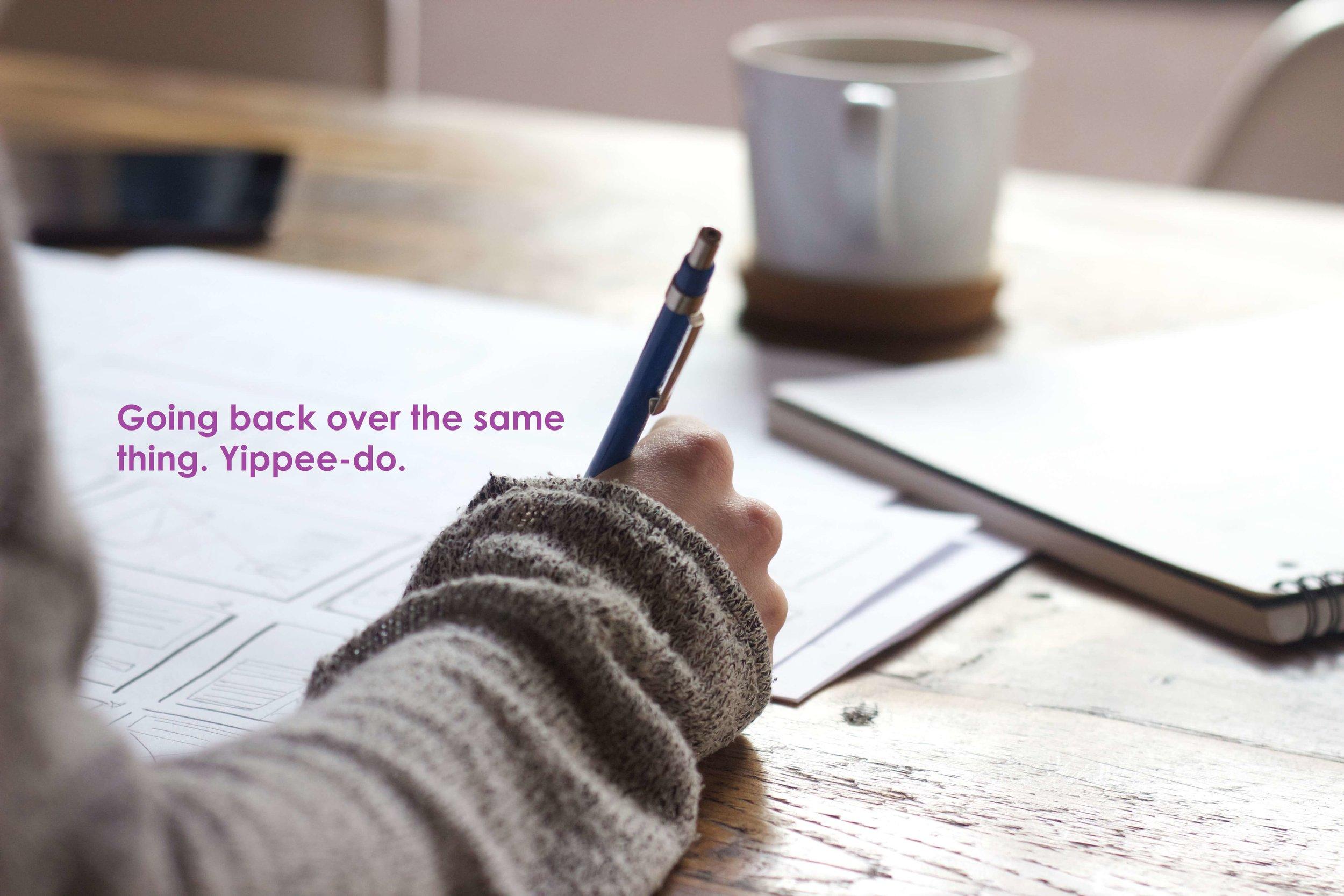 copywriting involves going back over old blog posts