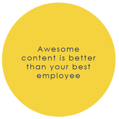 content writing is better than your best employee