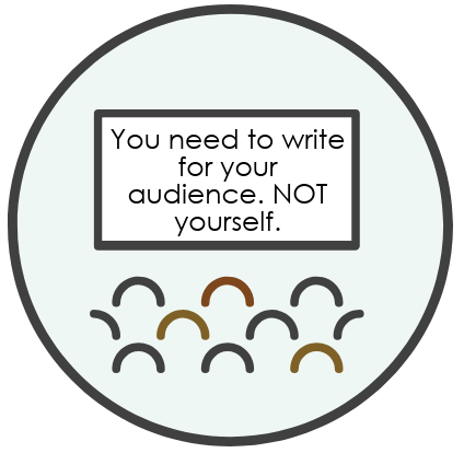 how to write for your audience