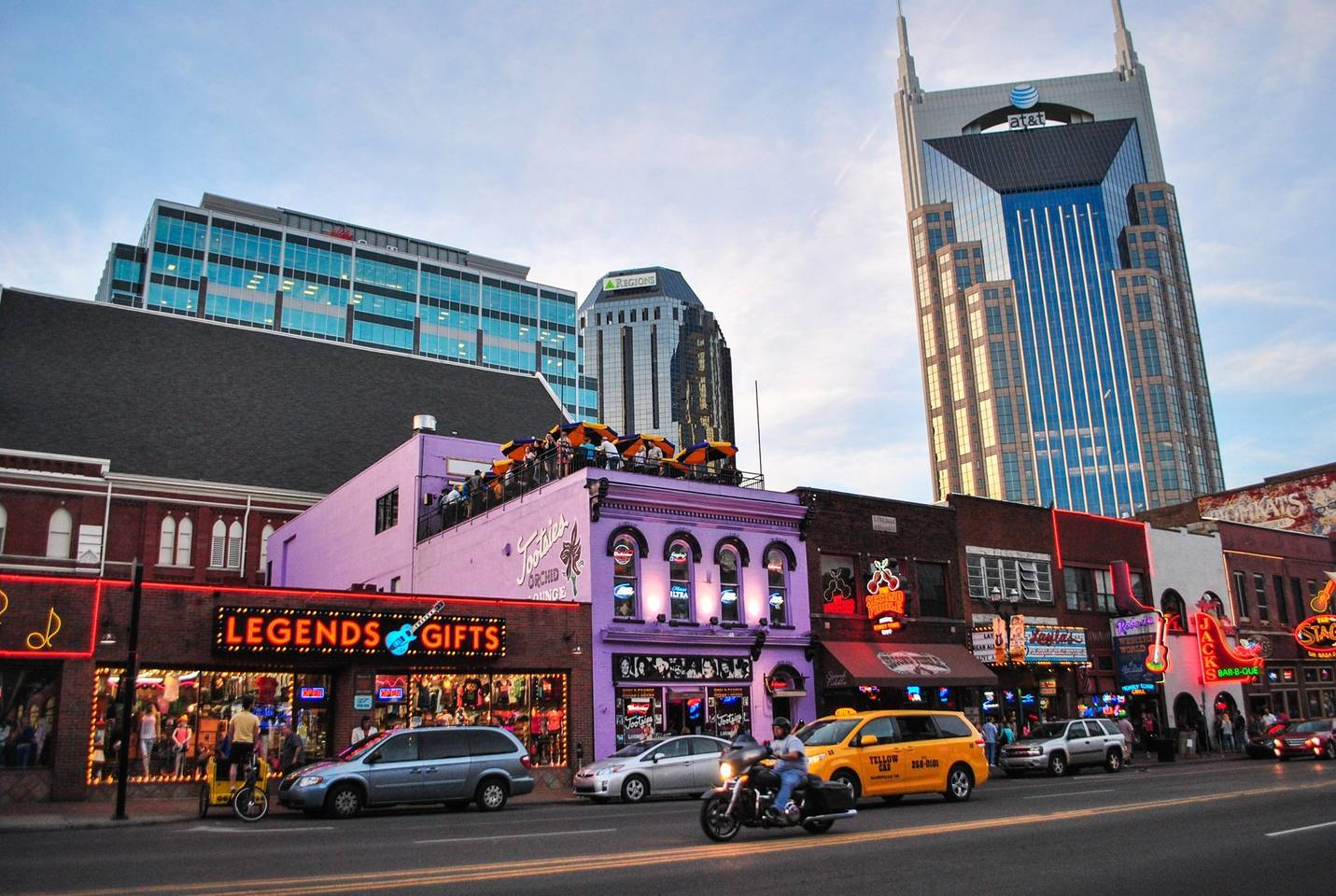 """broadway - """"Willie Nelson, Kris Kristofferson, Gretchen Wilson, Dierks Bentley, and other stars began their careers on this amazing honky tonk highway. MEANING the person you see singing on the stage in Music City might be the next big thing. Come party with the rest of the world on this one-of-a-kind strip!"""""""