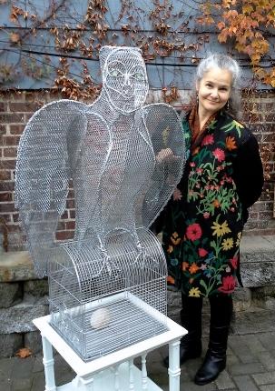 Sarah with  Silver Chronicle  in Peekskill, NY