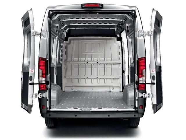 Peugeot Boxer Silver Rear Access