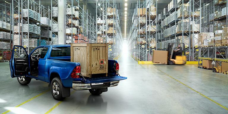 Toyota Pickup Blue