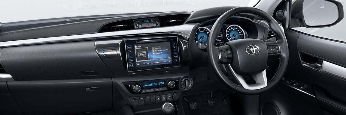 Toyota Pickup Front Interior