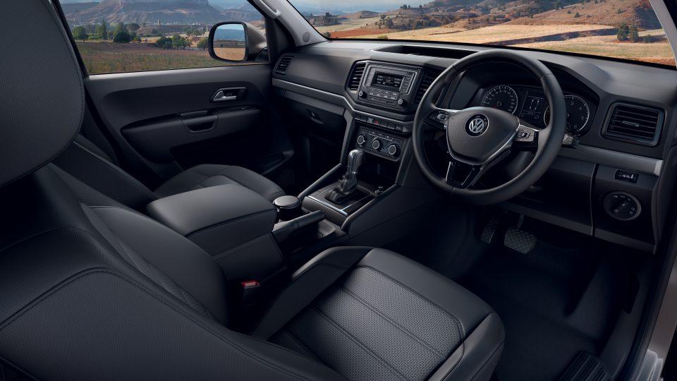 Volkswagon Amarok Interior Front Seats
