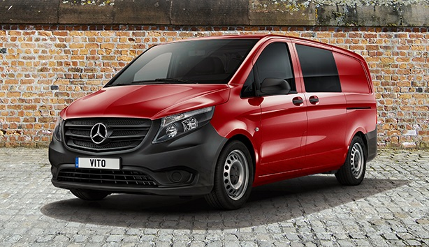 Mercedes Vito Crew Van