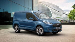 Ford Transit Connect on the street
