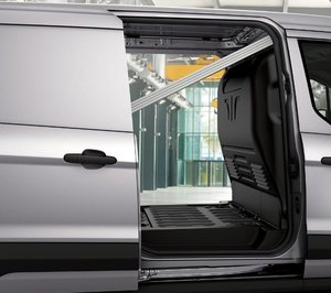 Ford Transit Connect Storage and back layout