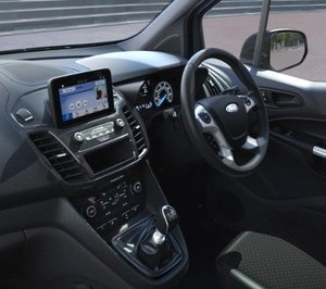 Ford Transit Connect Inside and Dashboard