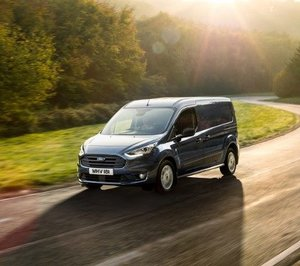 Ford Transit Connect on the road…