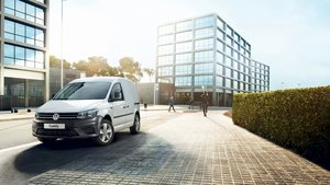 Volkswagon Caddy in White